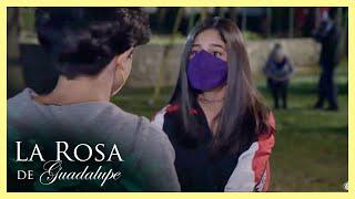 La Rosa de Guadalupe: Alicia se escapa de su casa para ver a su novio   El amor está en los astros