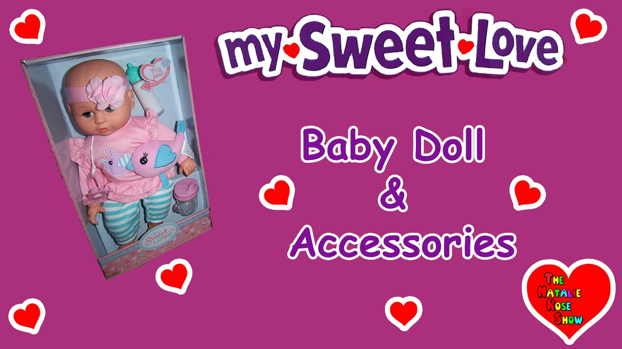 f25509c88a42b My Sweet Love Doll   Accessories Unboxing and Review - YouTube