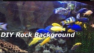 Most Beautiful Diy Aquarium Background (really)