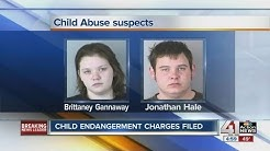 Child endangerment charges filed