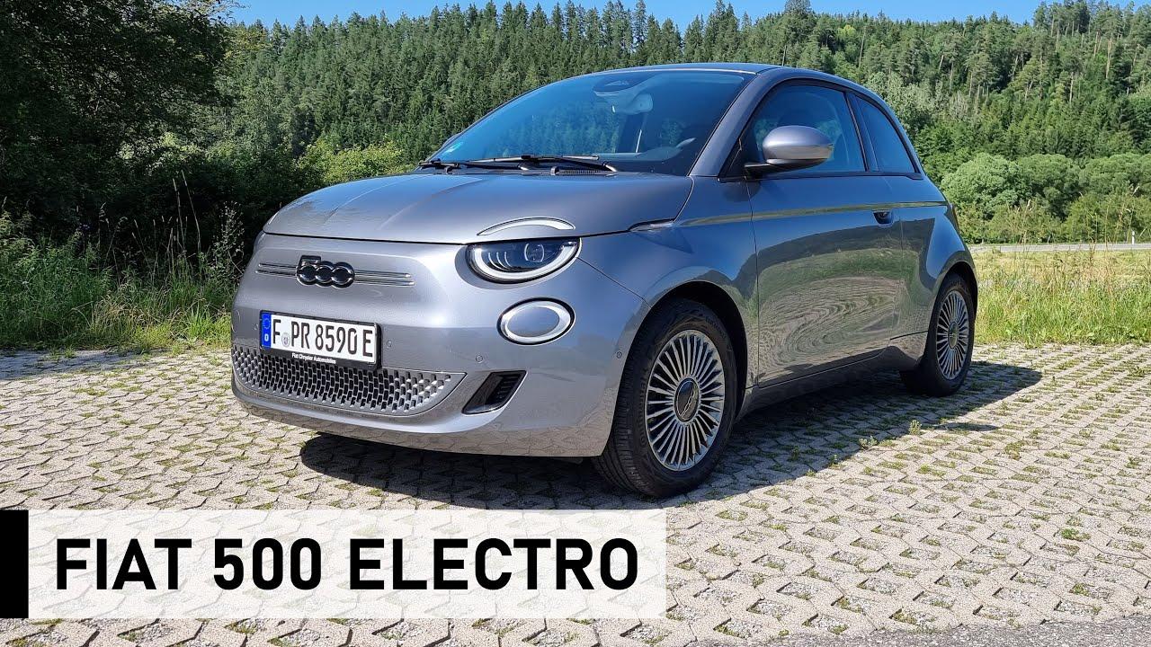 Der NEUE 2021 Fiat 500 E: Ein Auto voller Liebe! - Review, Fahrbericht, Test