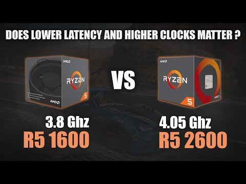 Ryzen 5 1600 vs Ryzen 5 2600 | 720p, 1080p and 1440p Benchmarks : Amd