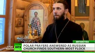 South Pole priests find faithful in the frost
