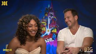 Will Arnett and Tiffany Haddish talk about meeting the REAL Batman