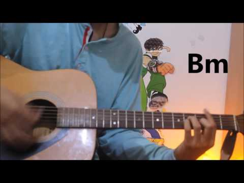 Mann Bharya - Punjabi Song - Guitar Cover Lesson Chords Easy - Janni