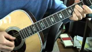 guitar lesson: rain on the roof