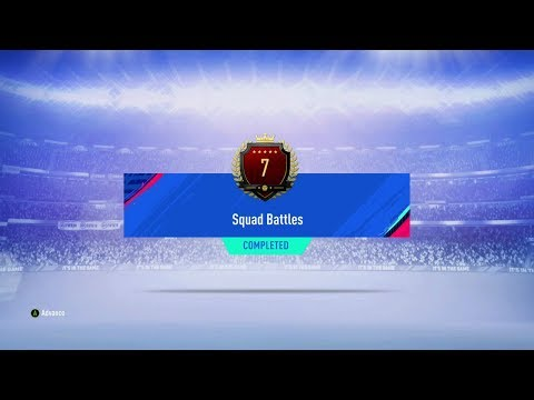 TOP100 SQUAD BATTLES REWARDS 7TH IN THE WORLD WITH CUSTOM TACTICS FIFA 19