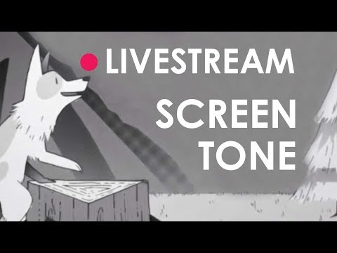 Let's Make A Screen Tone Illustration