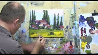 """Video Learn To Paint E5 - """"Tuscany Farmhouse"""" Learn To Paint For Beginners in Acrylic #MooreMethod download MP3, 3GP, MP4, WEBM, AVI, FLV Maret 2018"""