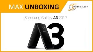 Unboxing Samsung Galaxy A3 (2017) en español | MAXmovil