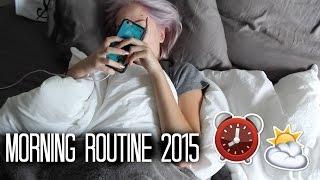 Summer Morning Routine 2015 | Maddi Bragg