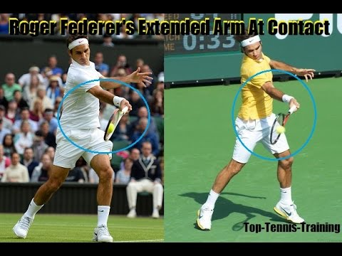 Tennis Forehand Technique   Bend Or Extend At Contact?