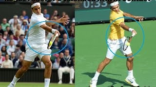 Tennis Forehand Technique - Straight Arm vs Bent Arm
