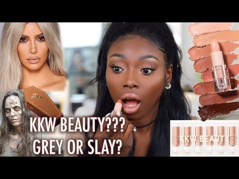 SIS, HOW NUDE IS NUDE? FIRST IMPRESSIONS ON NEW KKW BEAUTY NUDE CREME LIPSTICK COLLECTION