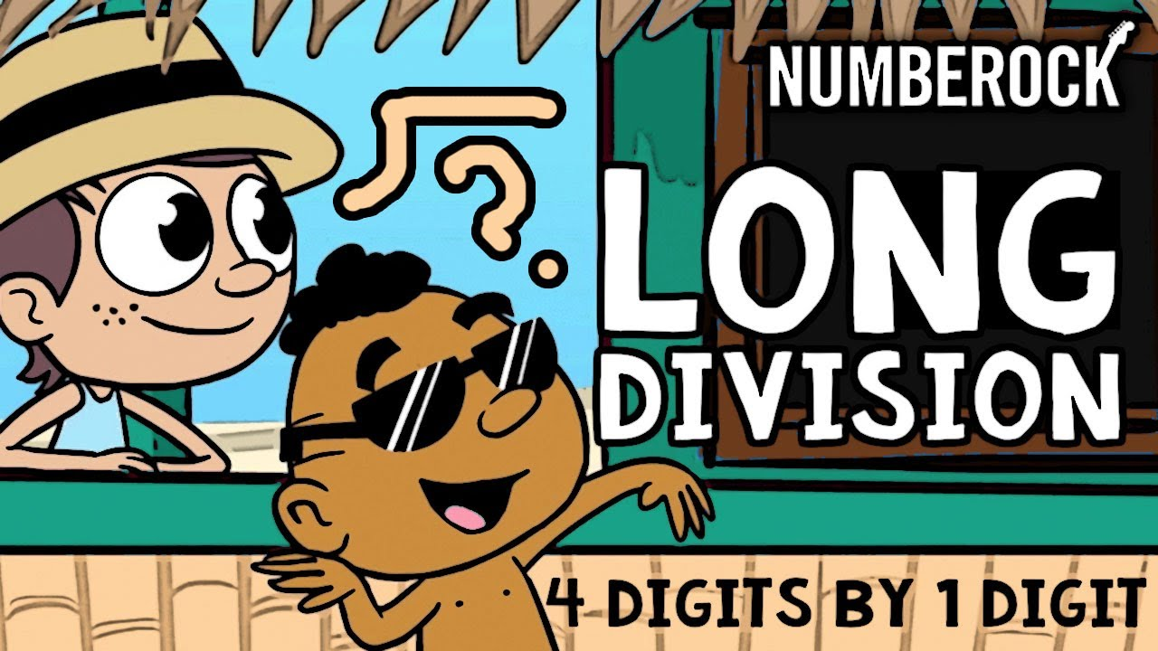 medium resolution of Long Division with Remainders Song   1 Digit Divisors - YouTube