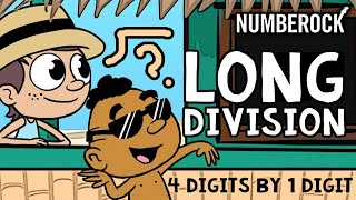 Long Division with Remainders Song | 1 Digit Divisors