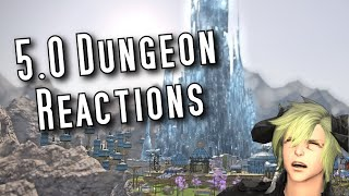 FFXIV Shadowbringers - 5.0 Dungeon Reactions