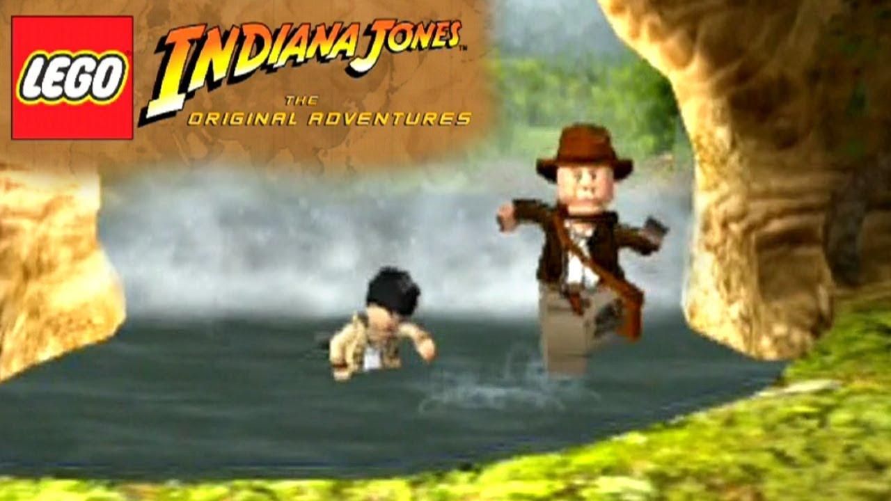 Lego Indiana Jones The Original Adventures Ps2 Youtube