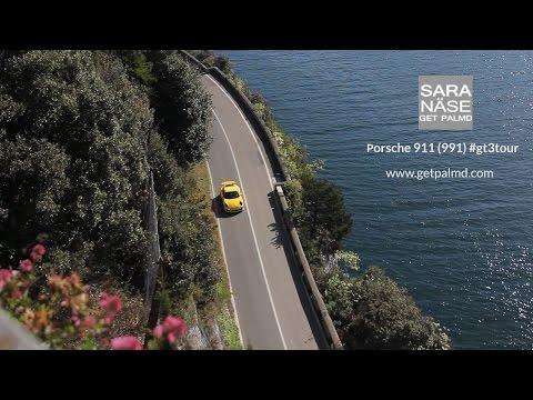 #gt3tour Porsche 911 GT3: Tuscany - Col de Turini - Lake Garda