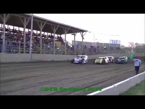 UMP B-Mod Heat Races | Belle-Clair Speedway | 4.17.15