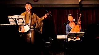 旭夏&甘茶(筑前琵琶と三味線)ライブ 演奏曲:松の廊下、舟弁慶他 よ...