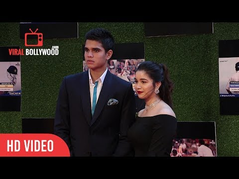 Sara Tendulkar and Arjun Tendulkar at Sachin A Billion Dreams Grand Premiere | Sachin Tendulkar