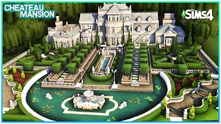 Sims 4 Palace Mansion 💸 [No CC] - Sims 4 Speed Build | Kate Emerald
