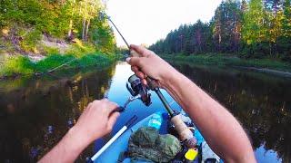 В ЭТОЙ РЕКЕ ПОЛНО РЫБЫ Вот куда надо ехать на рыбалку