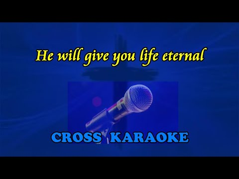 Jim Reeves - He Will give you life eternal. karaoke backing by Allan Saunders