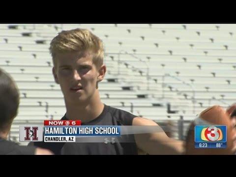 Alabama offers Hamilton QB scholarship