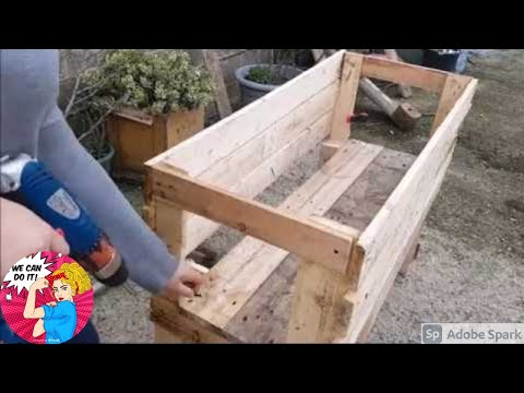 making-a-pallet-planter