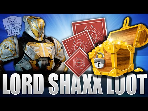 Destiny: Lord Shaxx Loot - True Meaning Of War x3 Looting Rewards - Exotic & Legendary