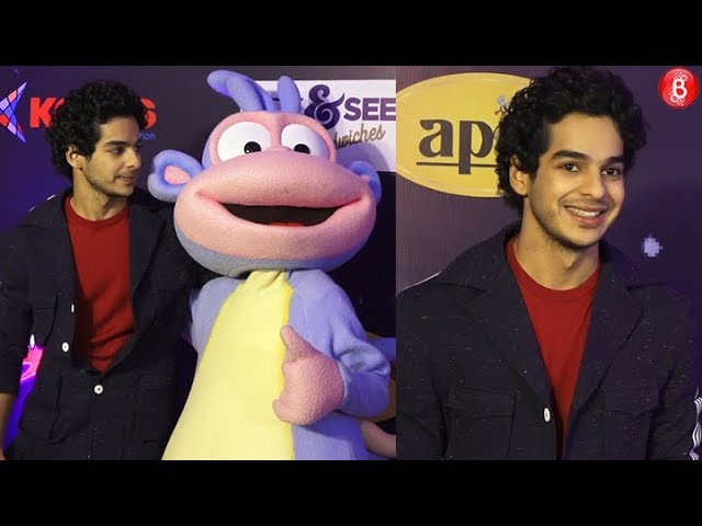 Ishaan Khattar gets candid with the media | Kids Choice Awards 2018