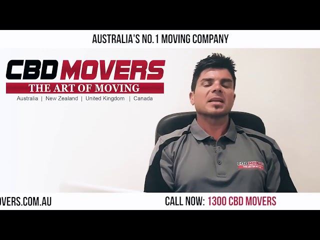 CBD Movers™ Making Moving Easy and Stress Free