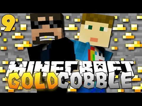 Minecraft: GOLD COBBLESTONE MODPACK | Raining Diarrhea!! [9]