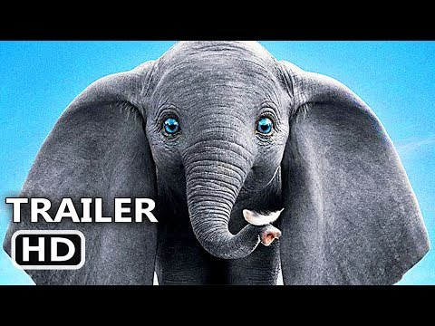 DUMBO New Trailer (2019) Disney, Tim Burton Movie HD