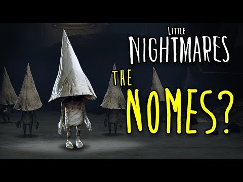 NOMES ARE THE CHILDREN?! - Little Nightmares + The Hideaway EXPLAINED!   Theories