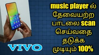 How to Add playlist song Scan Vivo mobile music Settings