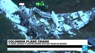 Colombia plane crash  what we know so far