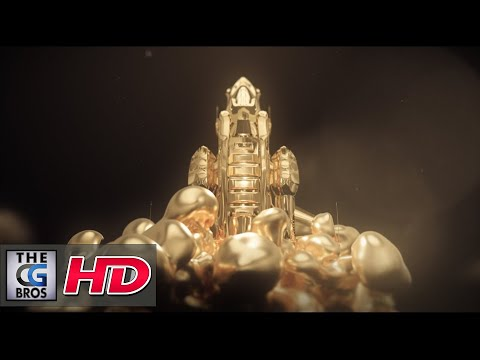 "CGI 3D Animated Titles : ""Foundation: Titles Sequence"" - by Niels Prayer"