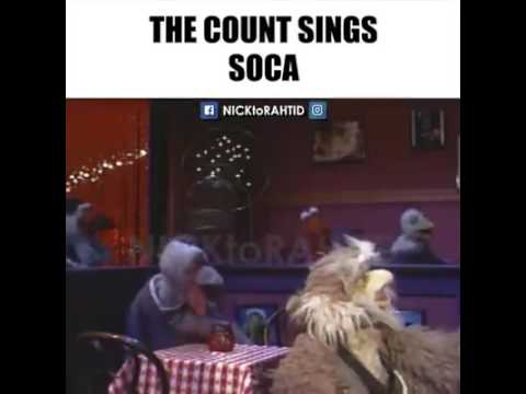 The count sings soca