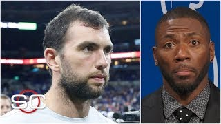 Andrew Luck's retirement from the NFL shocks Ryan Clark | SportsCenter
