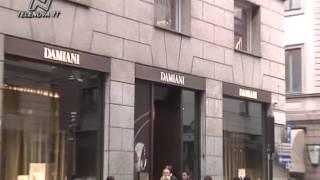 Furto gioielleria Damiani, presi gioielli per 650mila euro