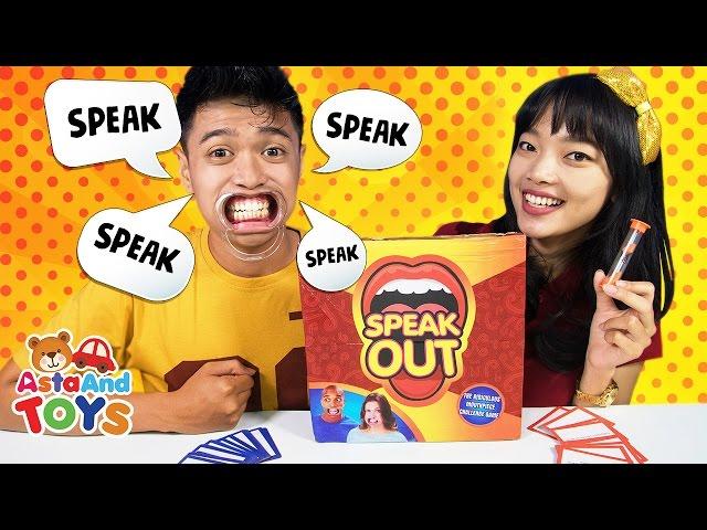 Speak Out permainan Menebak Kaliamat - Asta And Toys