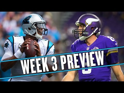 Is Sam Bradford good now? | NFL Week 3 preview | Uffsides