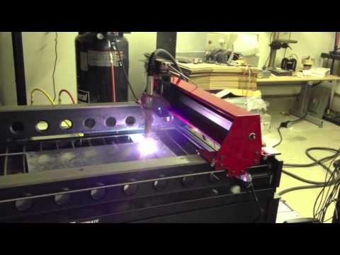 Sir Mix-A-Lot setting up the new Torchmate 2x4 CNC