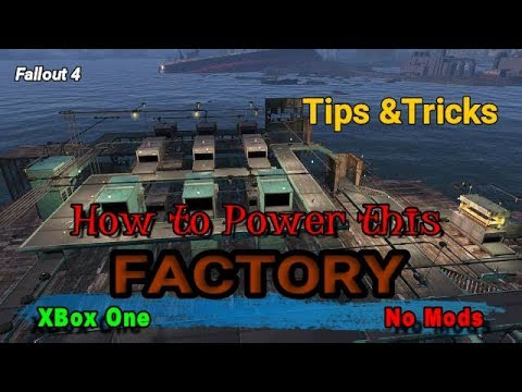 Fallout 4 Manufacturing Tips and Tricks Electrical