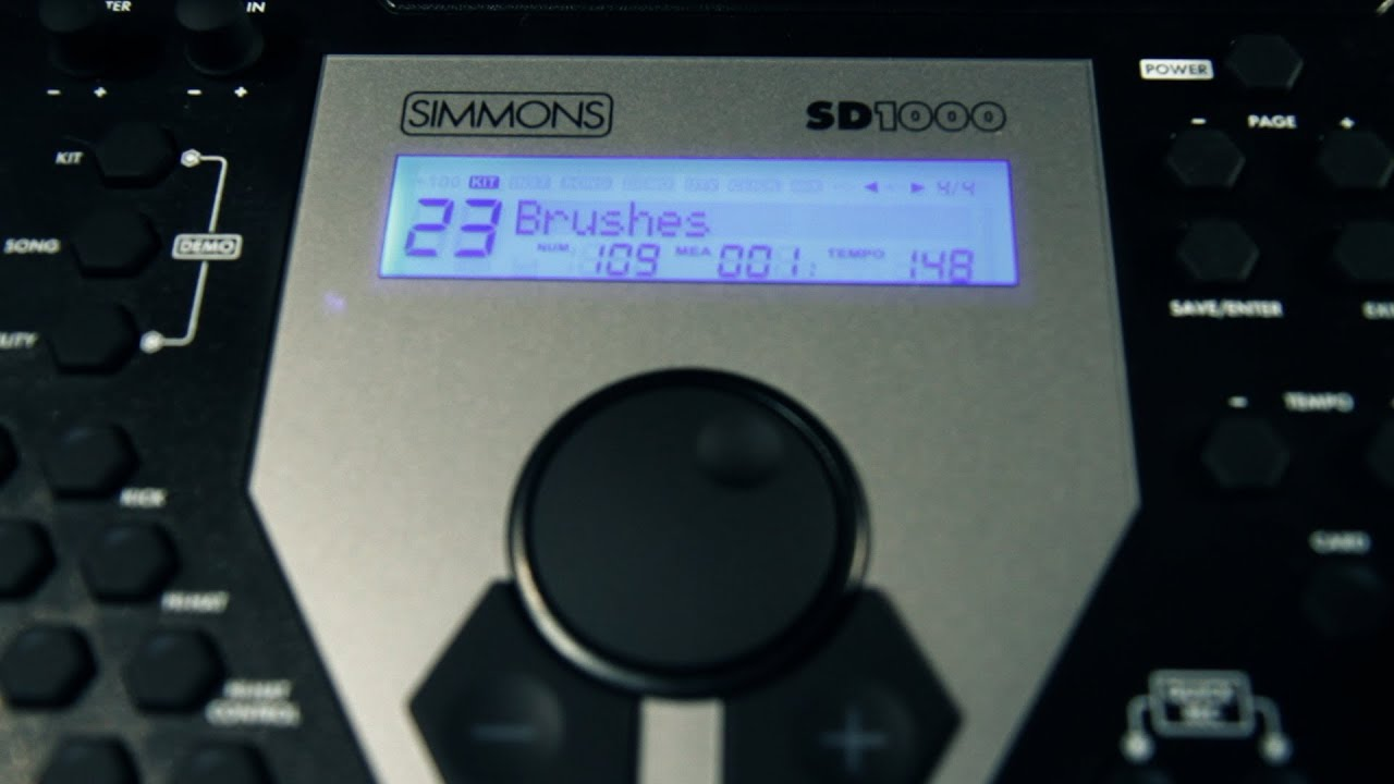 Product Spotlight Simmons Sd1000 Electronic Drum Kit Youtube