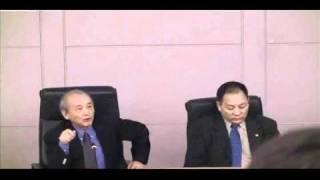 中國民主化展望和探索國際會議:徐文立致詞