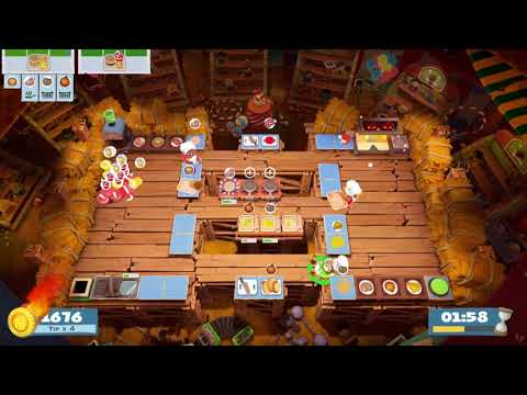 Overcooked 2 - Carnival of Chaos 3-2 (3 players) Score: 3484 |